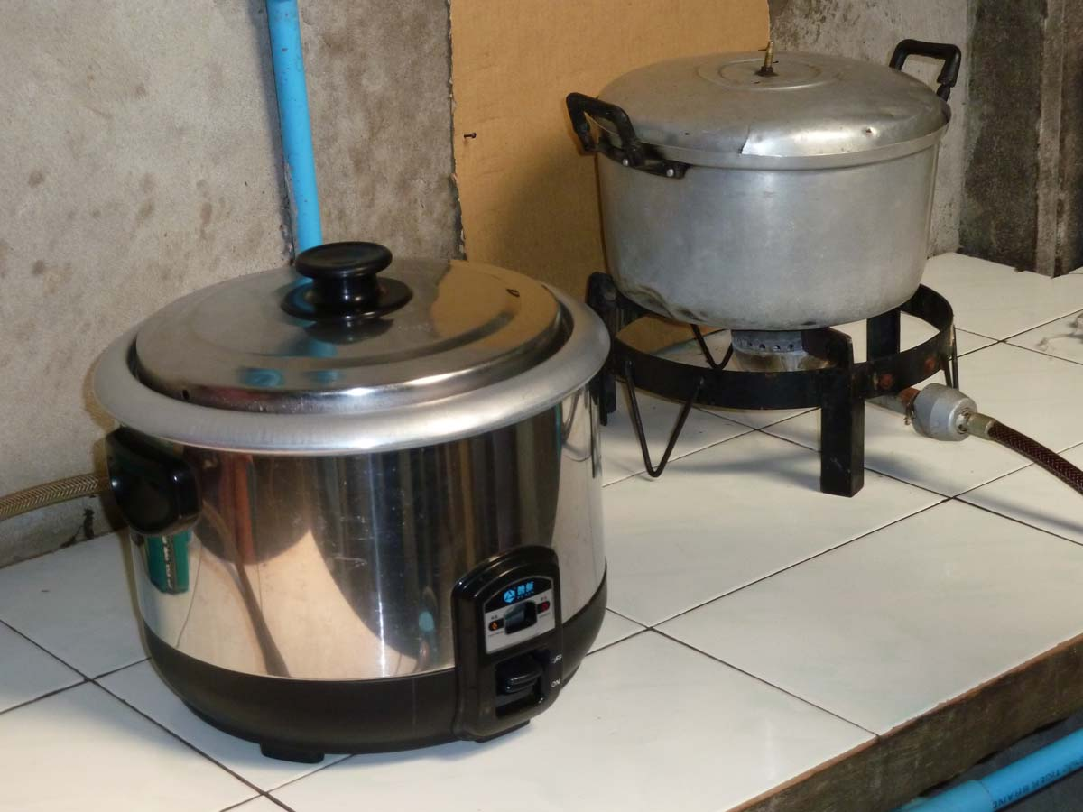 21. Bio-digester stoves and automatic rice cook